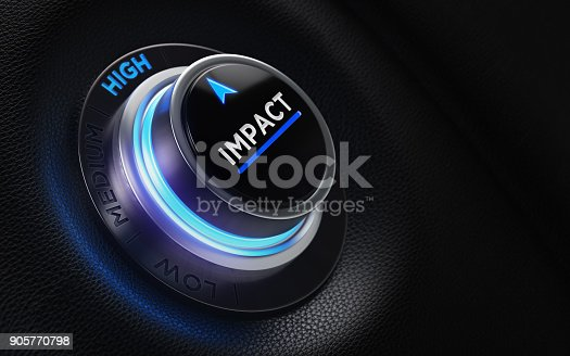 istock Finance And Investment Concept - Button On A Car Dashboard 905770798