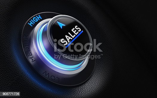 istock Finance And Investment Concept - Button On A Car Dashboard 905771726
