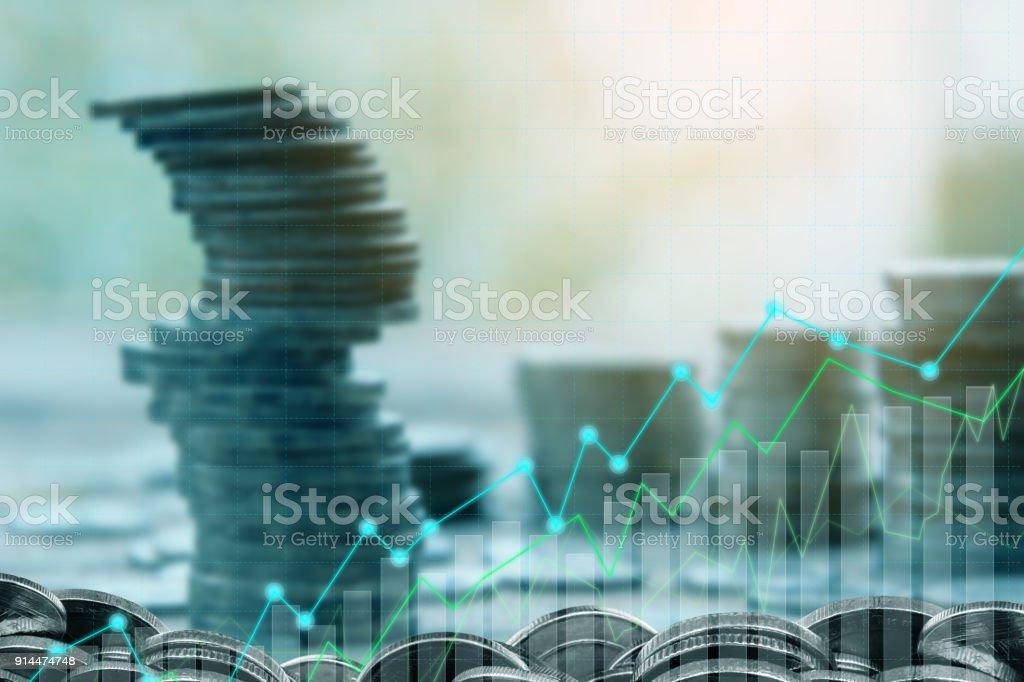 Financiering en investeringen concept. foto