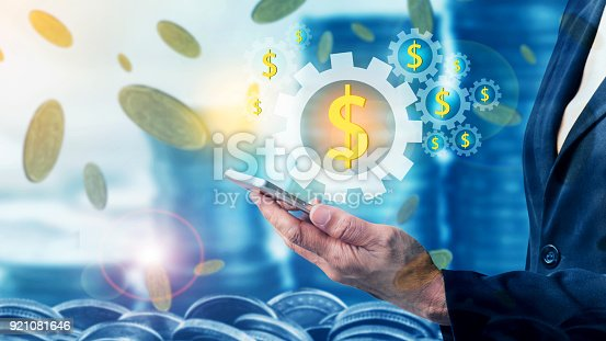 istock Finance and Investment concept 921081646