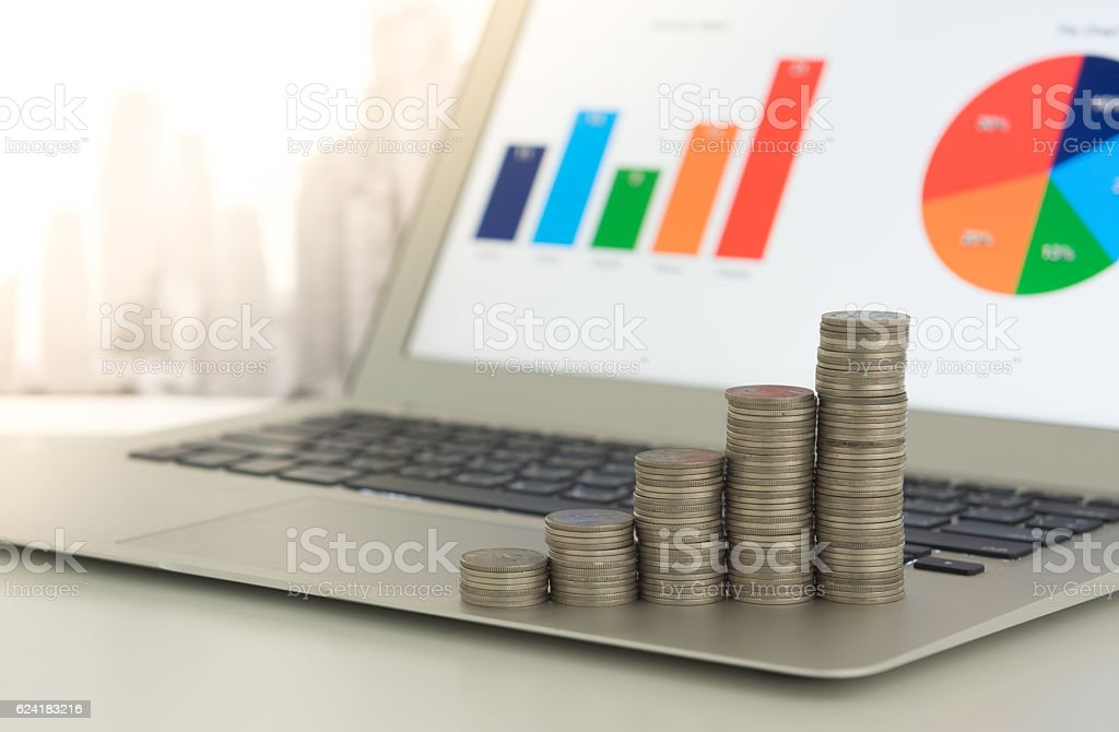 finance and investment stock photo