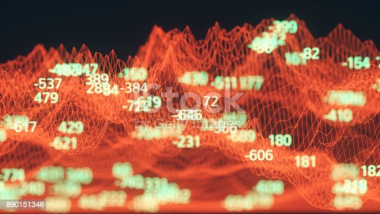 890150646 istock photo Finance and stock market data graph 890151346