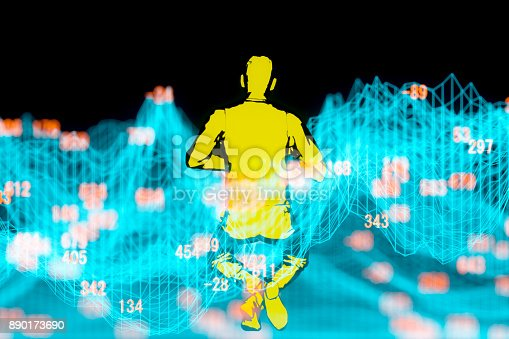890150646 istock photo Finance and stock market data graph 890173690