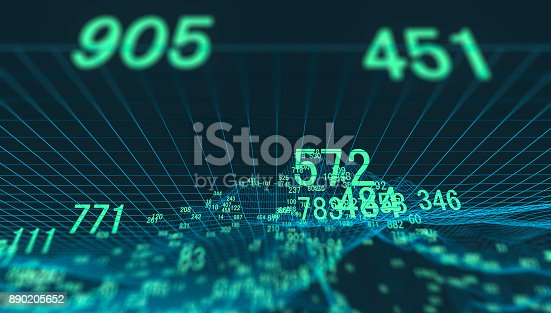 istock Finance and stock market data graph 890205652