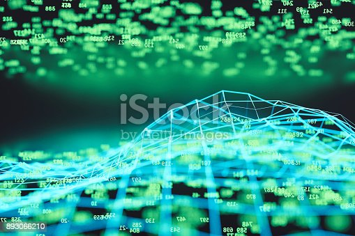 istock Finance and stock market data graph 893066210