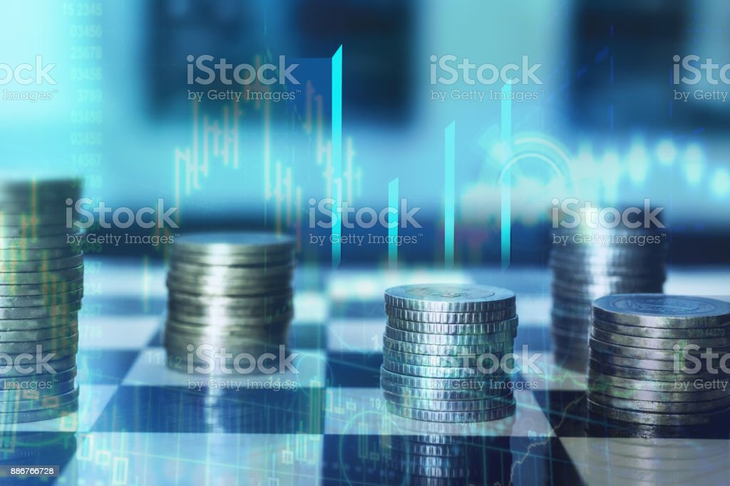 Finance and Strategy stock photo
