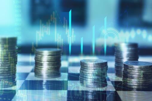 Finanzas Y Estrategia Foto de stock y más banco de imágenes de Accesorio financiero