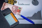 Calculating savings using technology