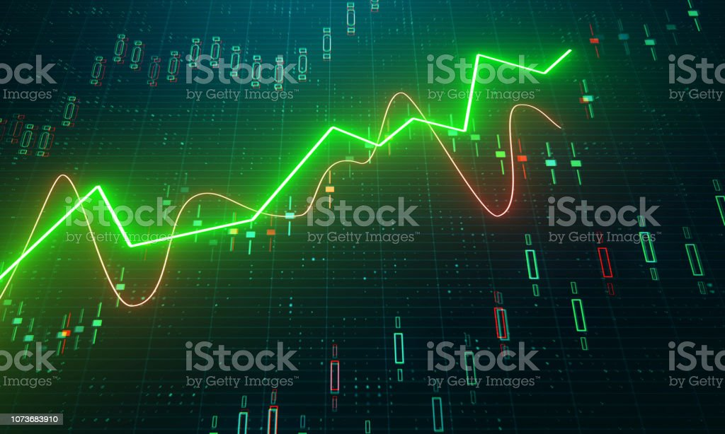Finance and trade concept royalty-free stock photo