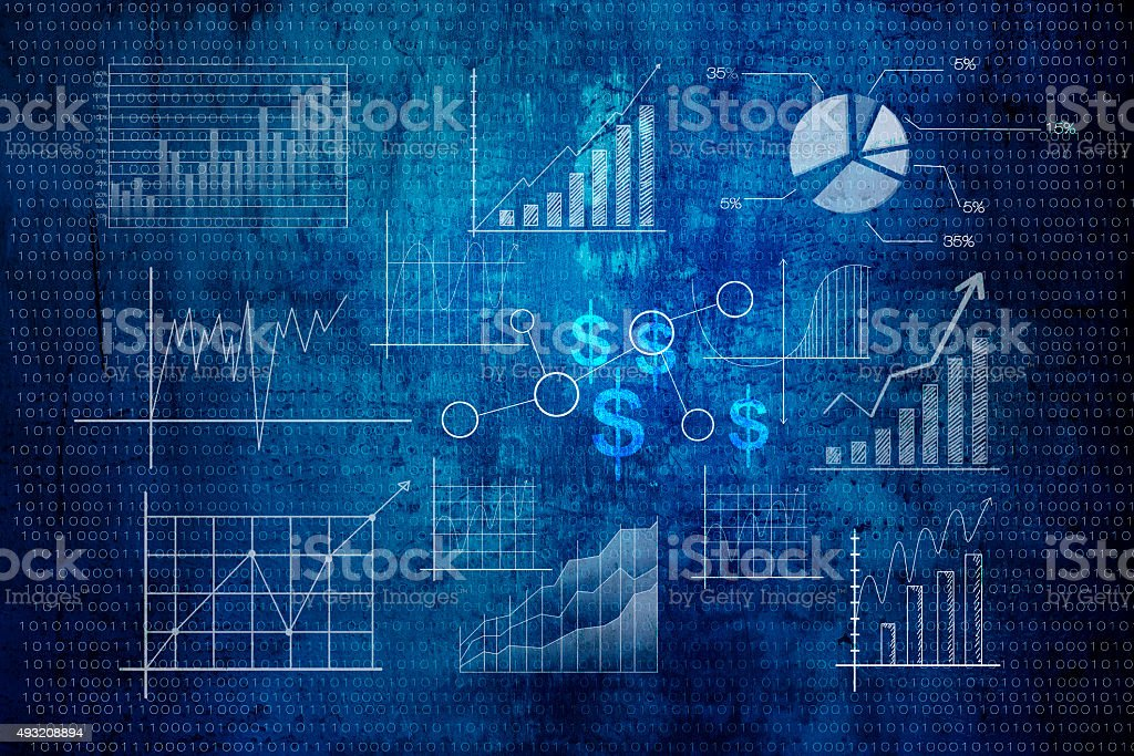 finance background stock photo