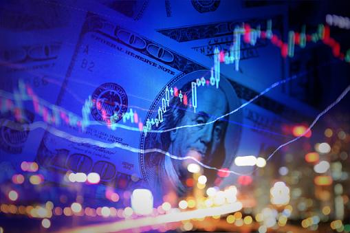 Stock Market Data/chart illustration