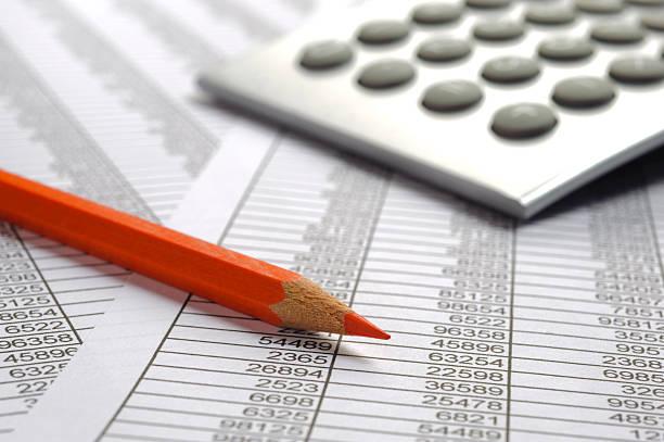 Calcul de finance budget - Photo