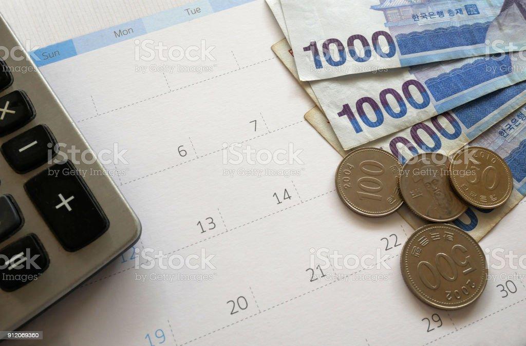 finance business planning stock photo