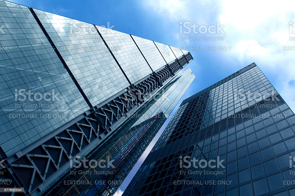 Finance Center stock photo
