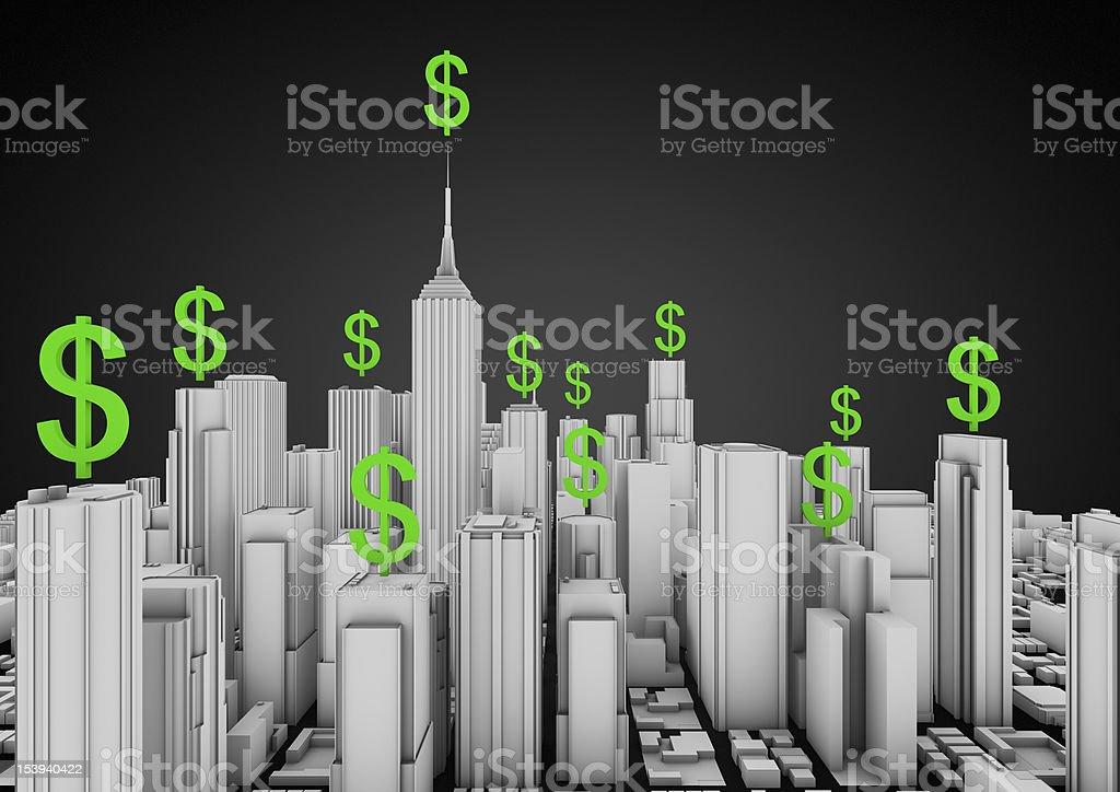 Finance Stadt – Foto