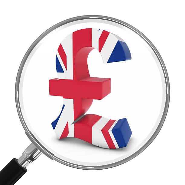 Royalty Free British Flag Pound Symbol Currency Symbol British