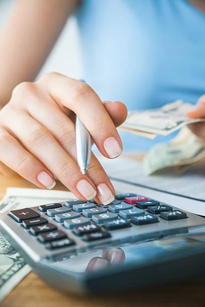 Finance concept stock photo