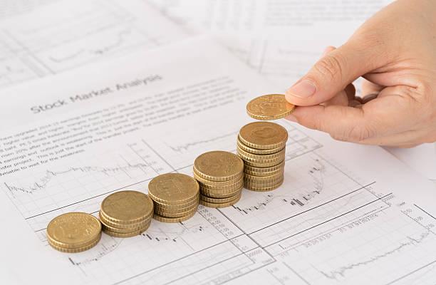 Concetto di finanza  - foto stock