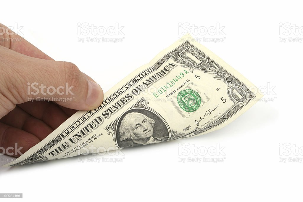 Finance Dollar Analyzing royalty-free stock photo