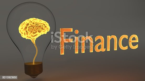 istock Finance Idea and Knowledge shown by Brain Inside Light Bulb 501592650