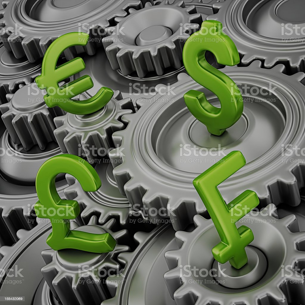 finance machine royalty-free stock photo
