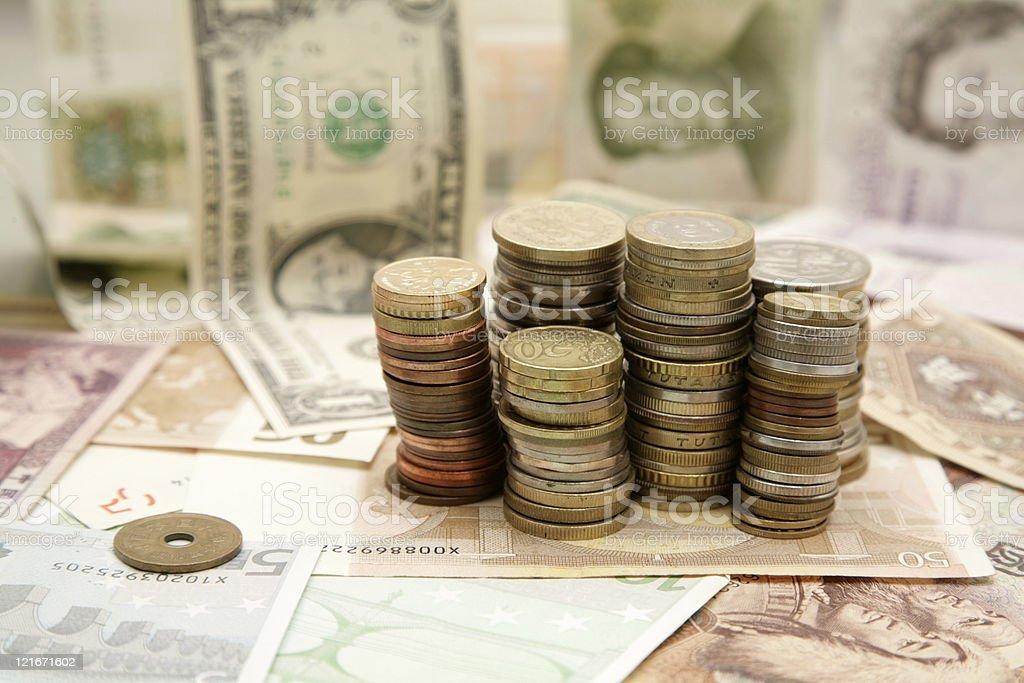 Finance pattern royalty-free stock photo