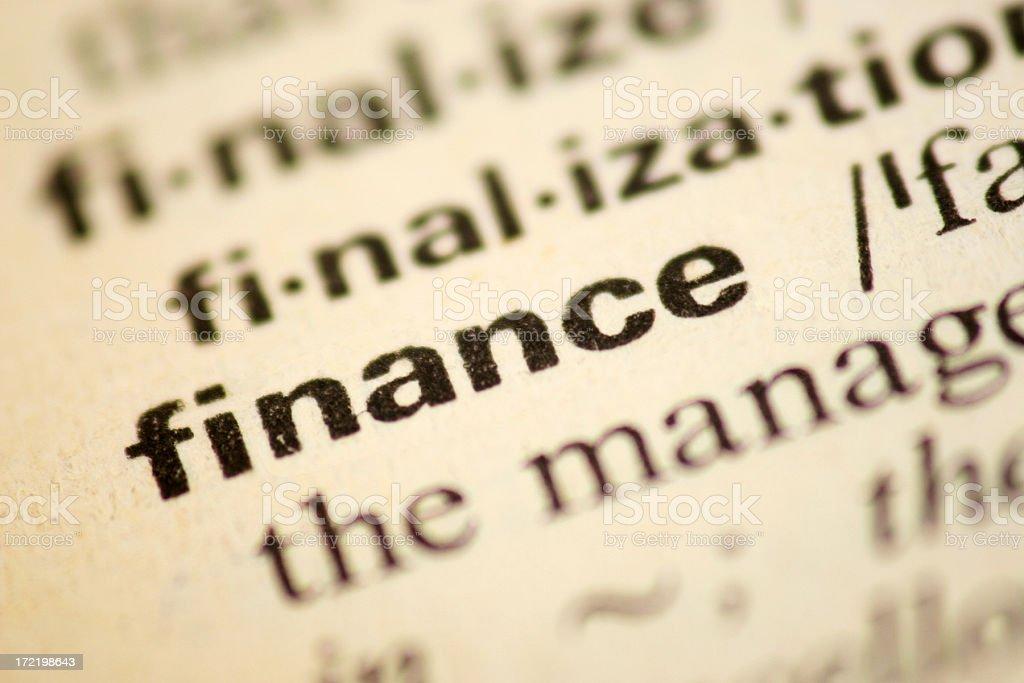 Finance royalty-free stock photo