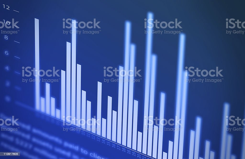 Finance report royalty-free stock photo