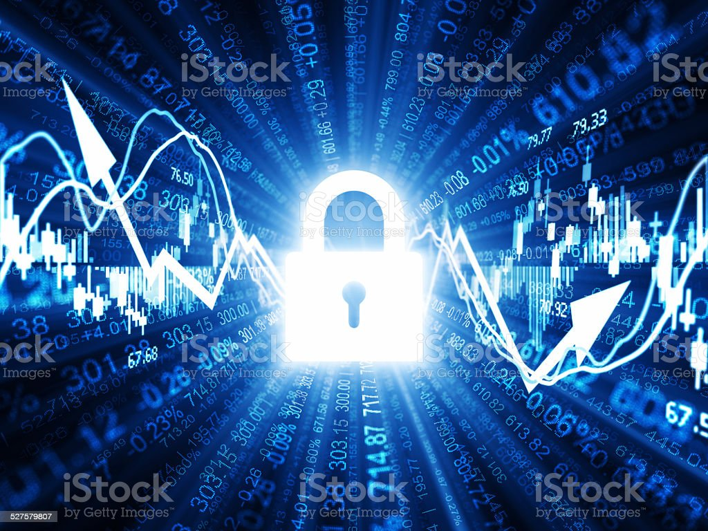 Finance Security stock photo