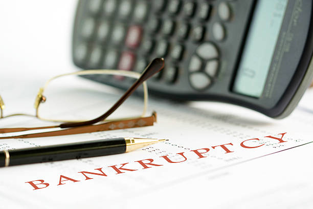finance series - bankruptcy stock pictures, royalty-free photos & images
