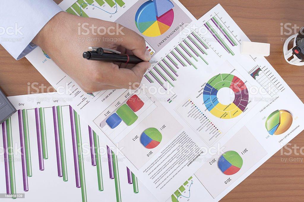 financial accounting royalty-free stock photo
