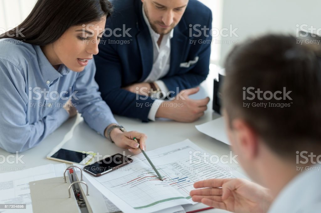 Financial advice - foto stock