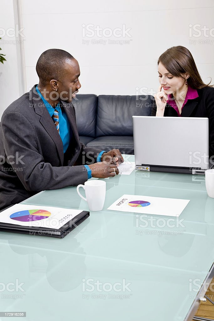 Financial Adviser royalty-free stock photo