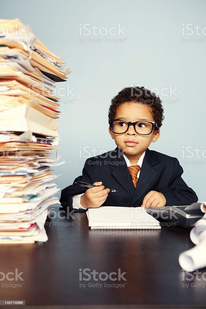 Financial Advisor royalty-free stock photo