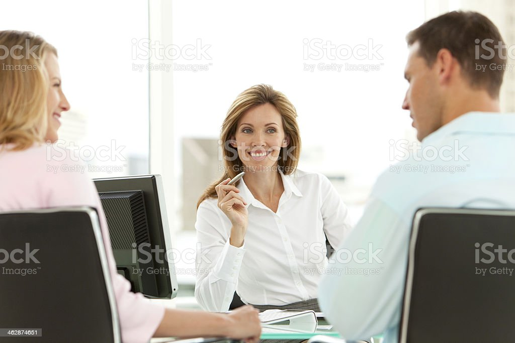 Financial Advisor royalty-free stock photo