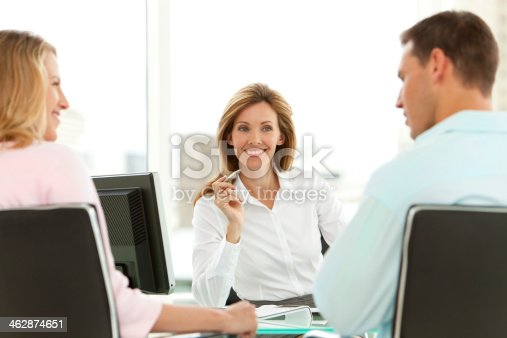 istock Financial Advisor 462874651
