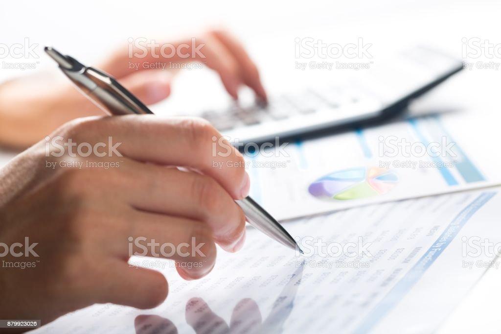 Consultor financeiro. - foto de acervo