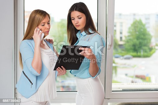 995734014istockphoto Financial advisor with a client 688739540