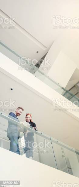 Financial Advisormeeting With Customers Stock Photo - Download Image Now