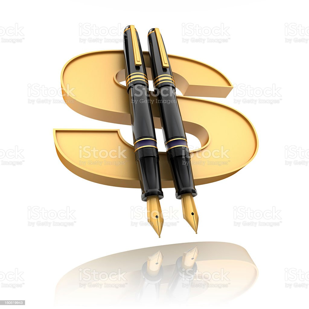 Financial agreement royalty-free stock photo