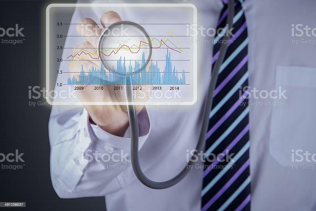 Concepto de análisis financiero 1 - foto de stock