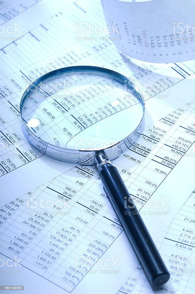 Finanzielle Analyse – Foto