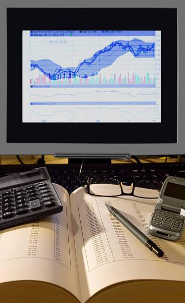 Analyse financière. - Photo