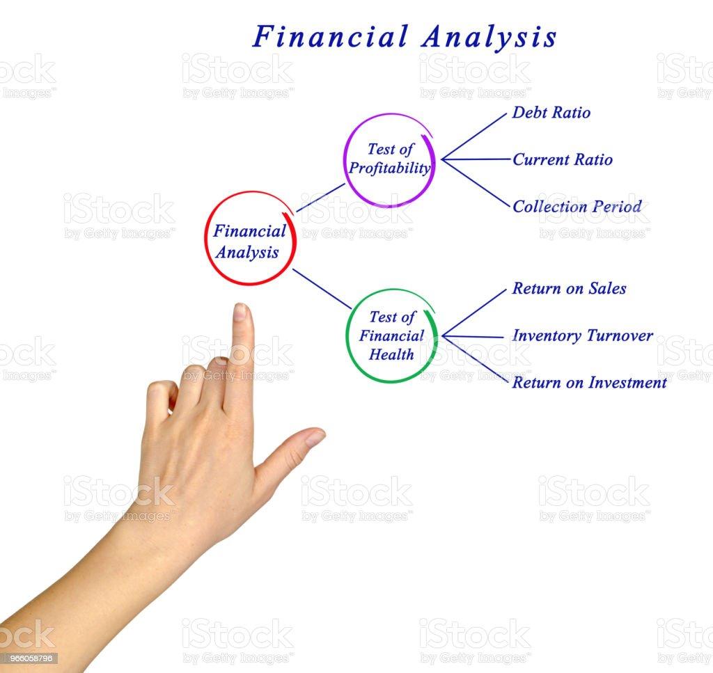 Finanzielle Analyse - Lizenzfrei Blume Stock-Foto