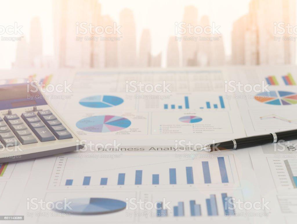 Analyste financier - Photo