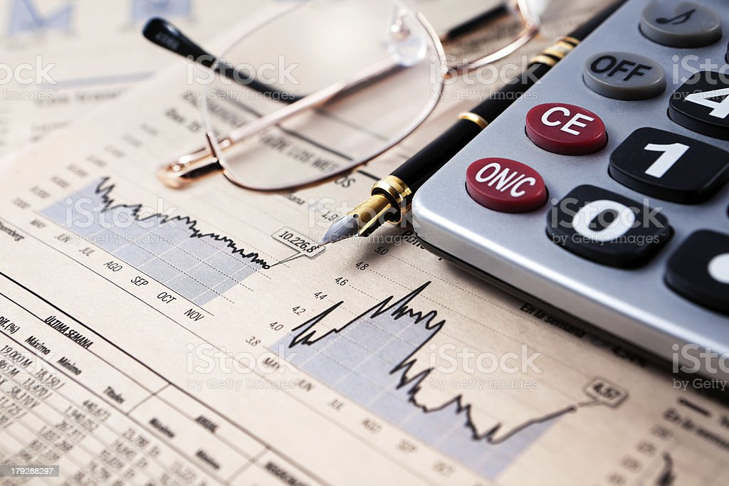 financial and banking background stock photo