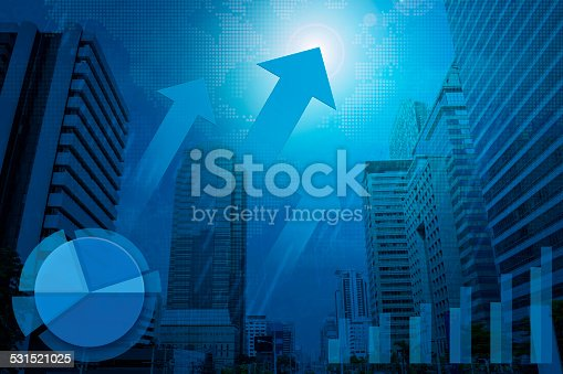 531581605 istock photo Financial and business chart and graphs 531521025
