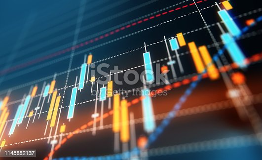 850495466 istock photo Financial and Technical Data Analysis Graph 1145882137