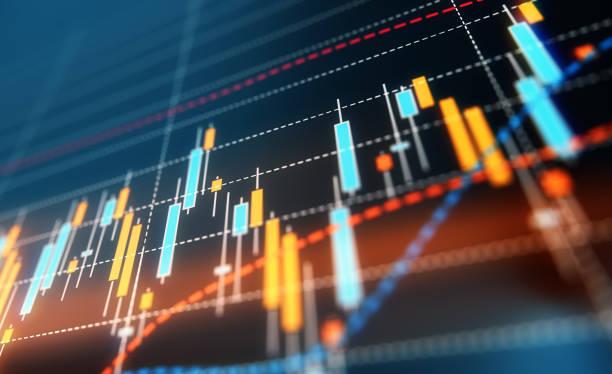 Finanz-und technische Datenanalyse – Foto