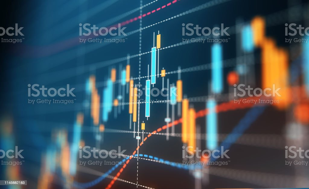 Financial and Technical Data Analysis Graph - Royalty-free Analyzing Stock Photo